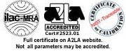 Certifications for calibration